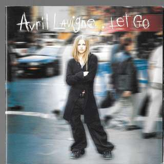 MY CD - AVRIL LAVIGNE - LET GO //FREE DELIVERY