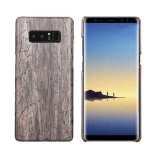 Case Samsung Note 8 Wood Carbon Fiber Brown