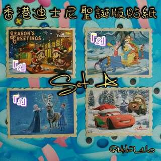 香港迪士尼 [🎅聖誕🎅] 貼紙