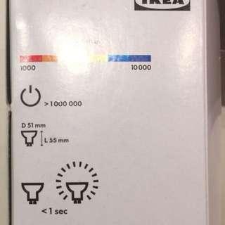 IKEA GU10 240V 35W Halogen Lamps (4 pcs)