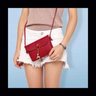 Korean Deer Chain Sling Bag
