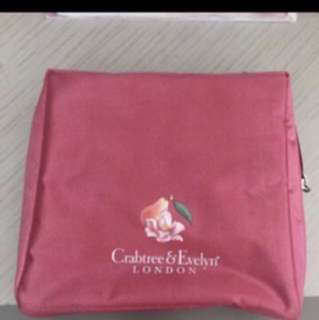 Crabtree And Evelyn - Rose Pink Pouch