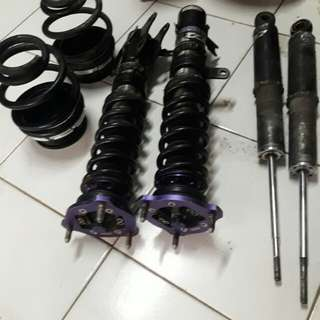 Shockbeker coilover d2