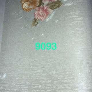 Wallpaper dinding motif bunga soft