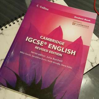 Cambridge IGCSE/IG English Revised Edition Student Book Collins by Julia Burchell