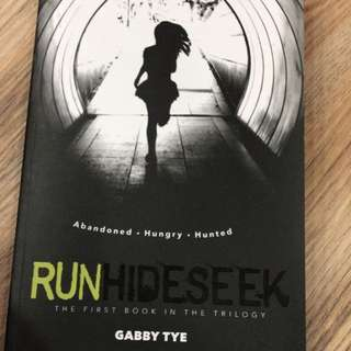 run hide seek book