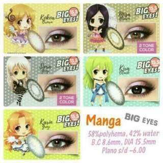 Softlens X2 Manga Big Eyes