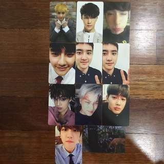 EXO OFFICIAL PHOTOCARD