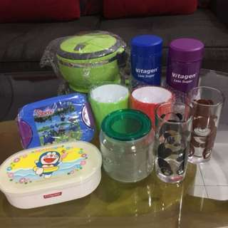 Lunch boxes / Mugs / Drinking glasses / Thermal container