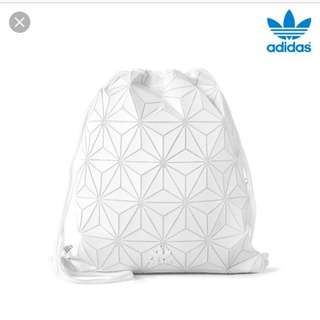 Originals 3D white geographic shape gym sack