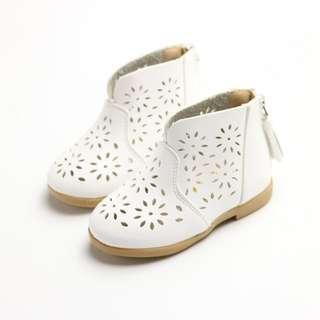 Toddler Baby Girl Boot White