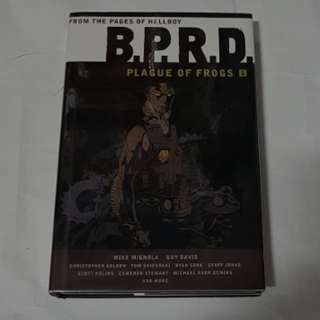 BPRD PLAGUE OF THE FROGS VOL 1 HC HELLBOY DARK HORSE