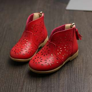Toddler Baby Girl Red Boot