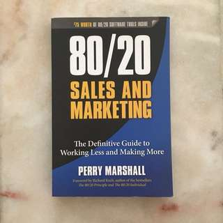 80/20 Sales and Marketing Book - Perry Marshall