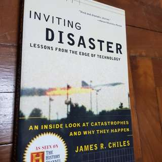Inviting Disaster - James Chiles