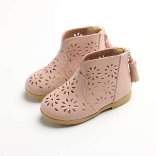 Pink Toddler  Baby Girl Boot