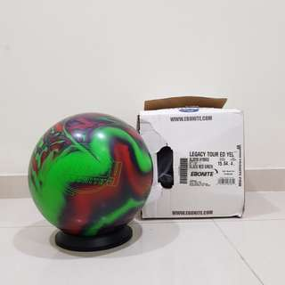 15.4lbs Ebonite Legacy Bowling Ball