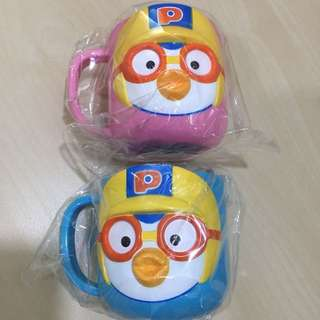 Authentic Pororo Cup from Korea- PRICE FOR EACH!