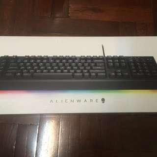 全新 Alienware 電競鍵盤 AW568 黑色