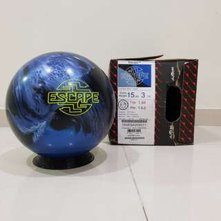 15.3lbs AMF Escape Bowling Ball