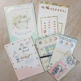 懷舊信封信紙6套
