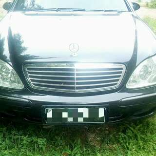 Mercedes Benz S-Class S 280 2003 Automatic