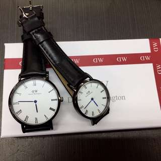 Daniel Wellington DW couple watch
