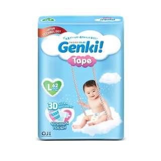 3 x Genki! Tape Mega L62