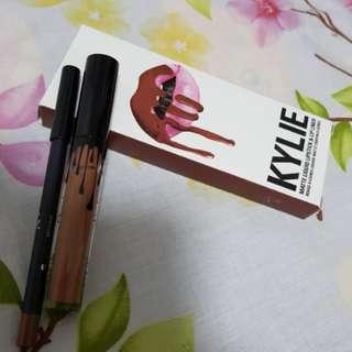Kylie matt lipstick and lipliner