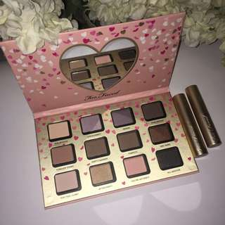 Limited edition Too Faced 'It's Fun to be a Girl' eyeshadow palette From Funfetti collection