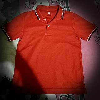 Preloved❤Uniqlo polo shirt