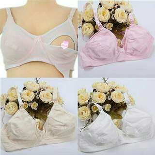 Hot item ❕🎉 2PCS RM 10 📢 NURSING BRA COTTON 📢