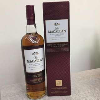 Macallan Maker's Edition
