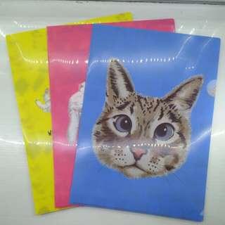 CUTE Cat File Holder/Folder/Organizer