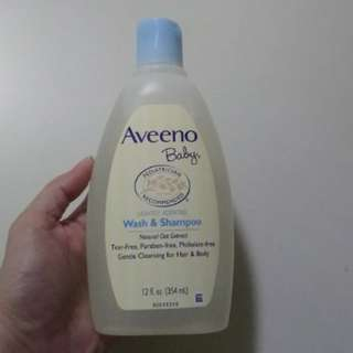 Aveeno Baby's wash & shampoo 354ml