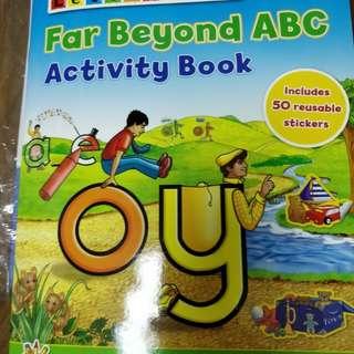 Letterland phonics activity book