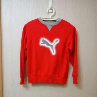 Puma衛衣-紅色