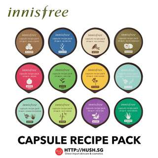 INNISFREE CAPSULE RECIPE MASK