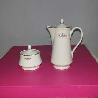 Vintage Dumex Tea Set (Milk And Auger Jars)