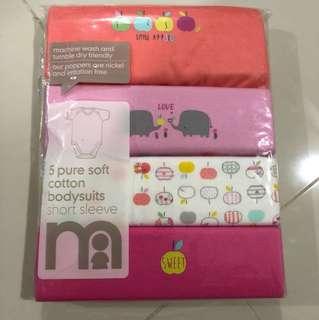 [Brand New] (6M-9M) Mothercare Bodysuit