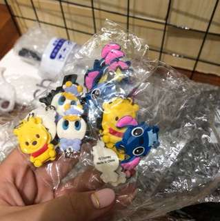 DISNEY RUBBER CHARMS
