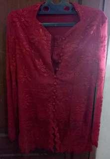 Kebaya Merah Payet