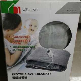 雙人電暖絨毛被,可手洗及機洗,快取者優先。
