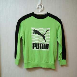 Puma衛衣-綠色