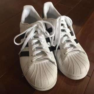 Adidas Superstars size 8.5 (fits like a 9)