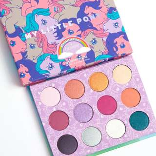 BRAND NEW INSTOCK: ColourPop My Little Pony Palette Pressed Powder Shadow Palette