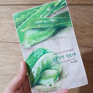 Nature Republic Aloe Vera Mask
