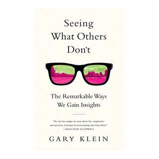 Seeing What Others Don't: The Remarkable Ways We Gain Insights BY Gary Klein