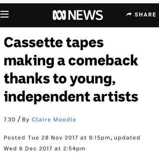 Cassette Tapes Are Becoming Trendy Once Again