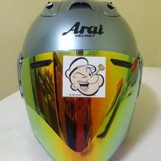 3001●●TSR RAM4 Helmet CONVERT TO ARAI 🦀 For SALE, Yamaha Jupiter, Spark, Sniper,, Honda, SUZUKI